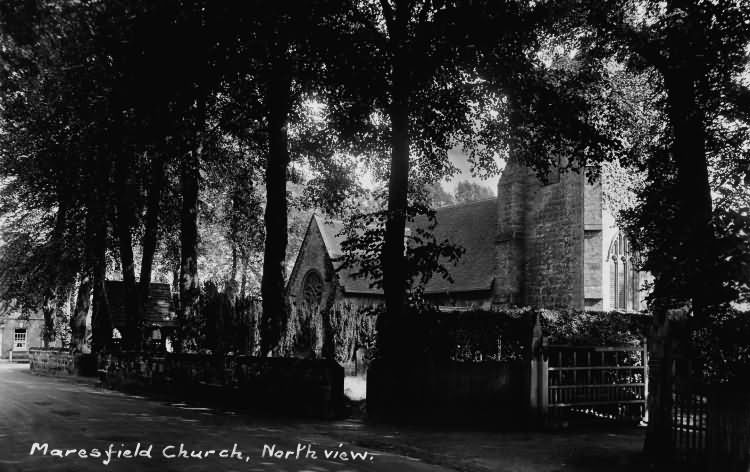 North View, Maresfield church - 1933