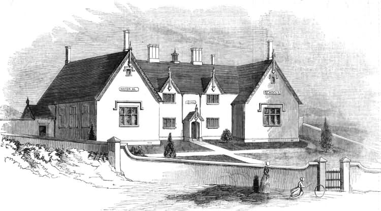 The New National School - 1849