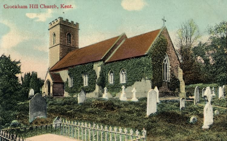 Crockham Hill Church - 1905
