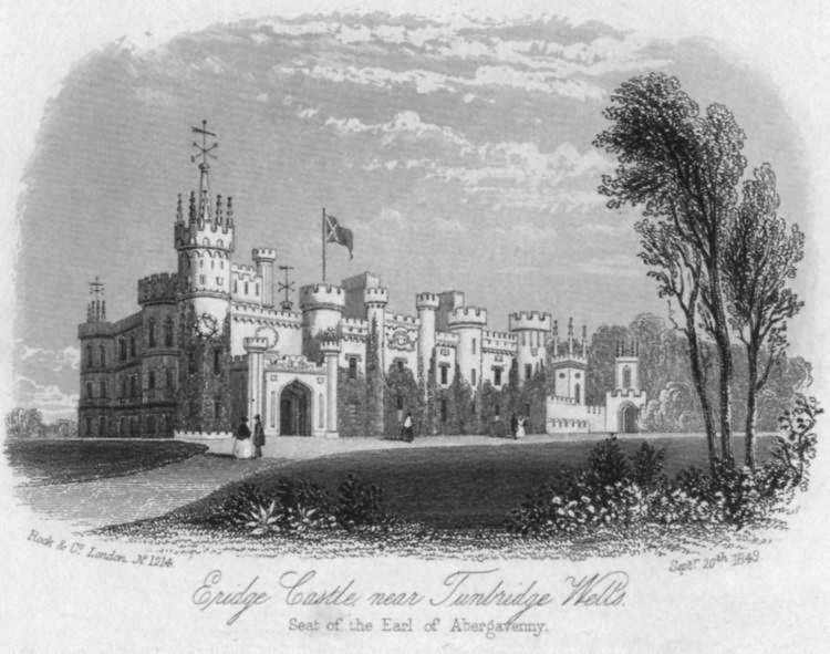 Eridge Castle - 20th Sept 1849