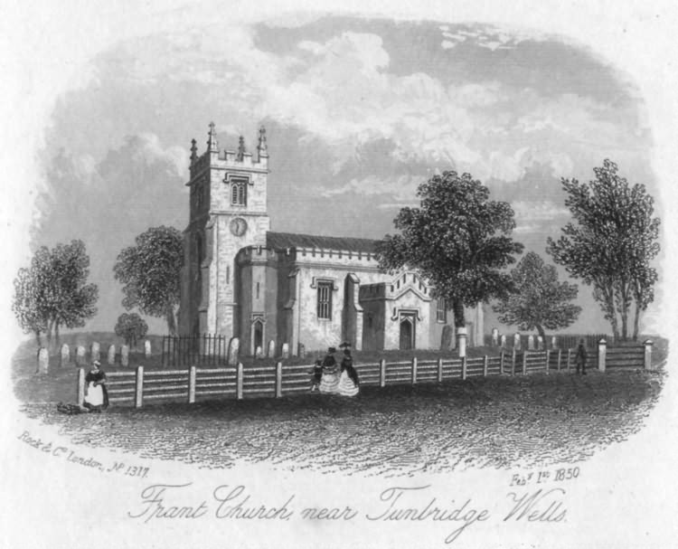 Frant Church - 1st Feb 1850