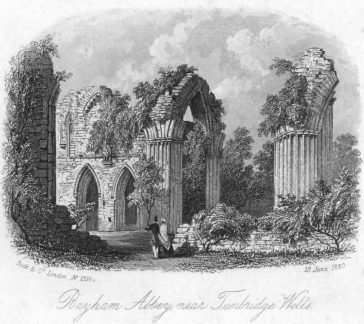 Bayham Abbey - 13th June 1850