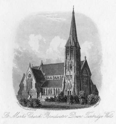 St Marks Church, Broadwater Down - 14th May 1866