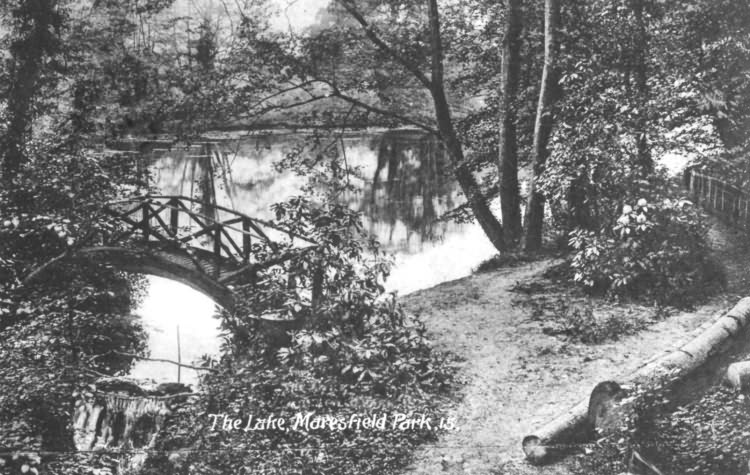 The Lake, Maresfield Park - 1919