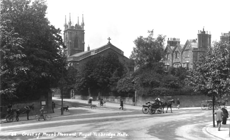 The Crest of Mount Pleasant - 1915