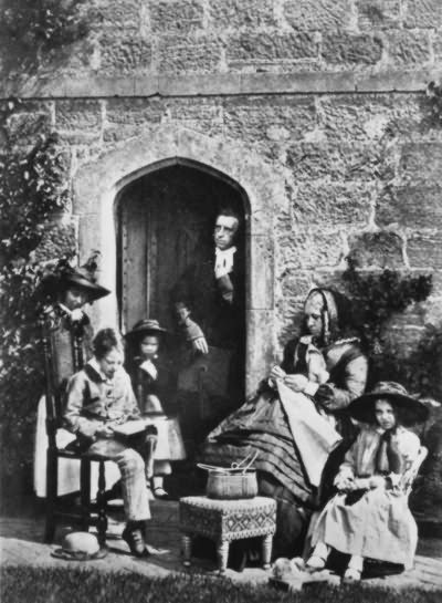 J.M. Neale and family, Sackville College - 1855