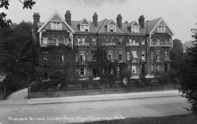 Tweedale Terrace, London Road - 1921
