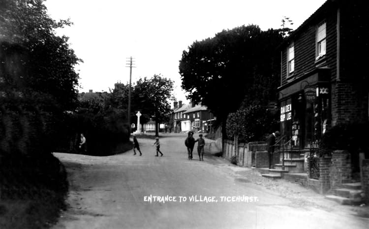 Entrance to Village - 1920