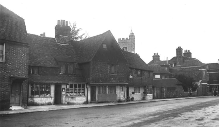 The Chantry Cottage Tearooms - 1940