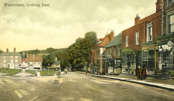 Westerham, looking East - c 1900