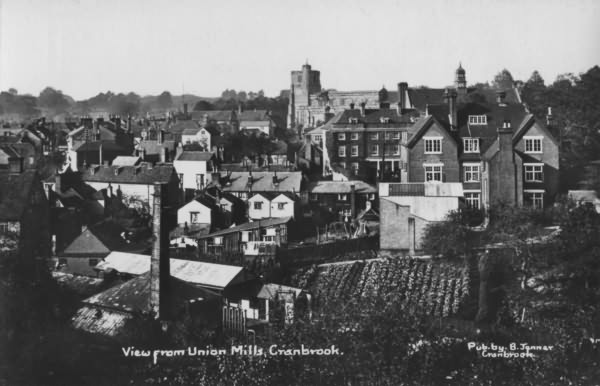 View from Union Mills - c 1940