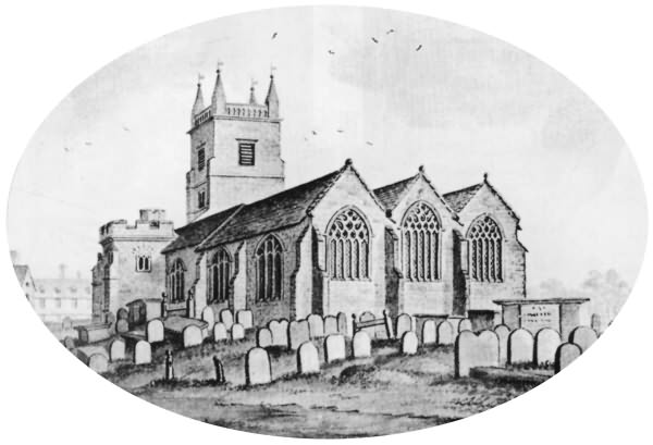 East Grinstead Church - 1781