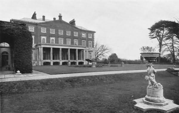 The South Front, Buxted Park - 1930