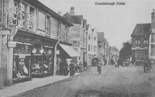 Crowborough Cross - c 1910