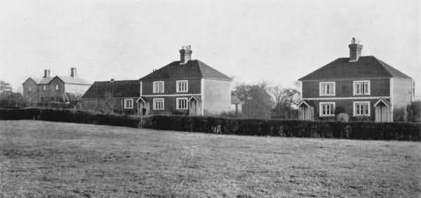 Modern Cottages, Five Ash Down - 1930