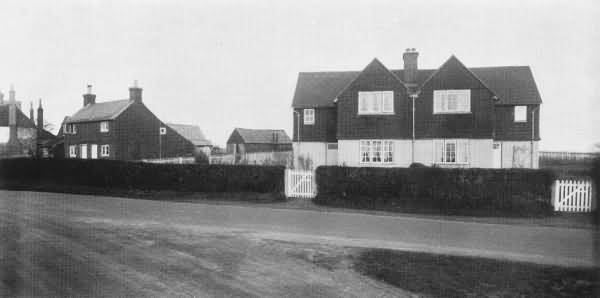 New Cottages, Five Ash Down - 1930