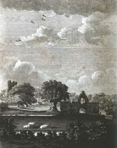 Bayham Abbey, the seat of John Pratt - 1797