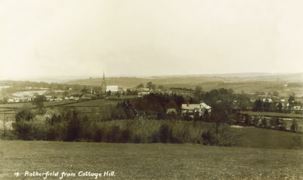 View from Cottage Hill - 1909