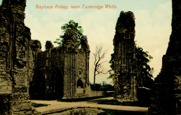 Bayham Abbey - 1911