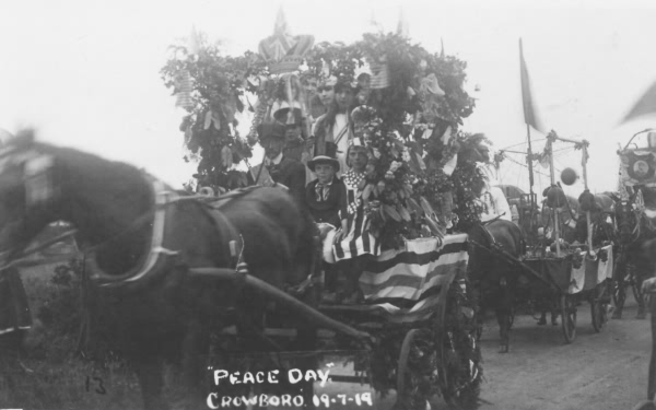 Crowborough - Peace Day - 9th July 1919
