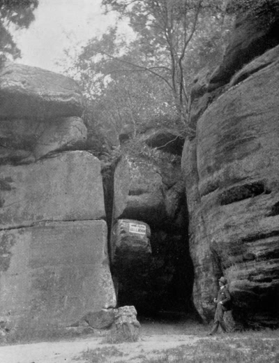Bell Rock, High Rocks - 1896