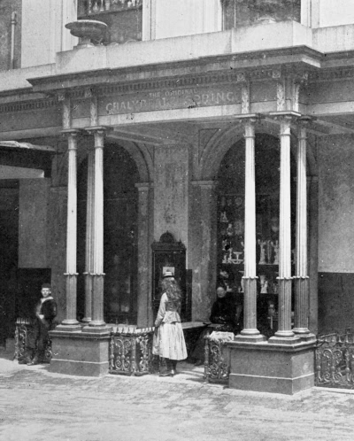 Chalybeate Springs, The Pantiles - 1896