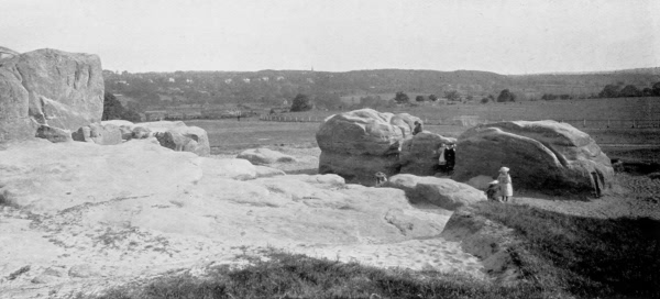 Stirling Castle Rocks, The Common - 1896