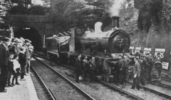 C Class 0-6-0 at Tunbridge Wells Station - c 1930