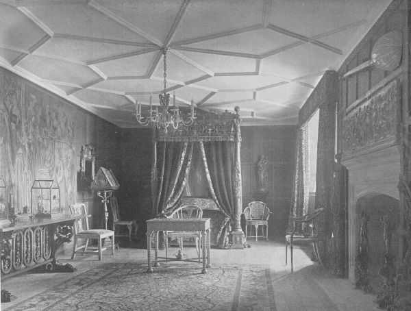 Chamber of Anne of Cleves, Hever Castle - 1907