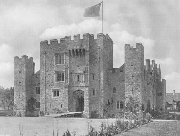 The Gatehouse from the South-West, Hever Castle - 1907