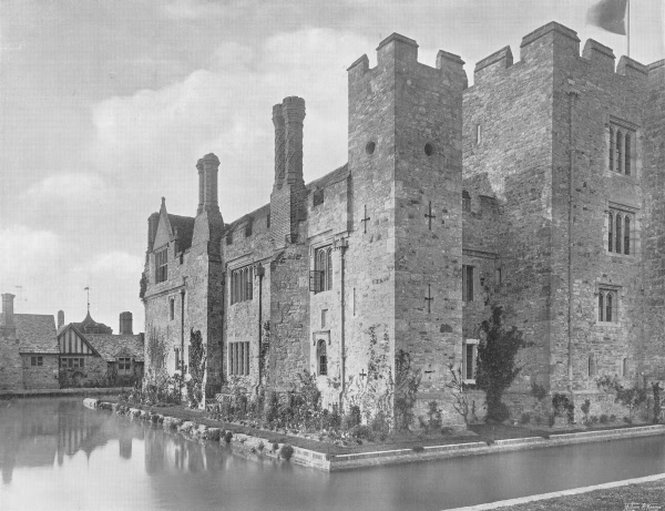South-West Angle, Hever Castle - 1907