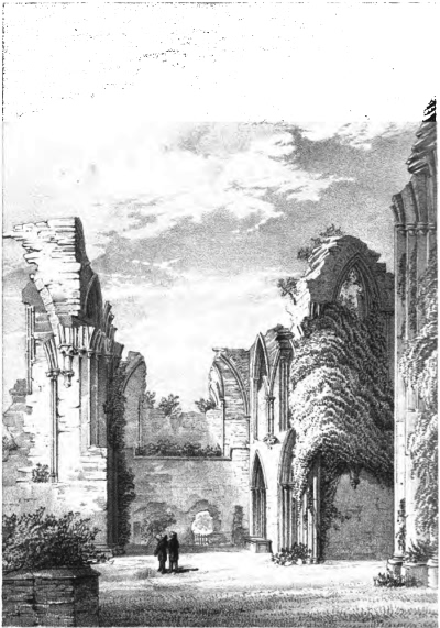 The South Transept of Bayham Abbey - 1857