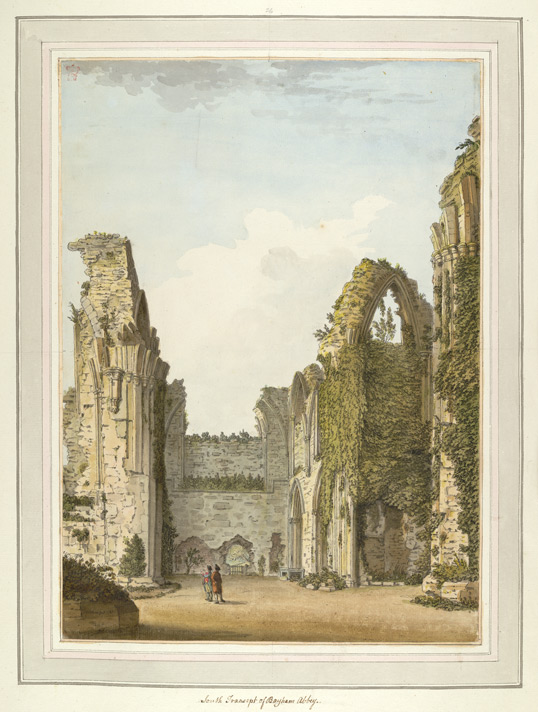 South Transept of Bayham Abbey - 1783