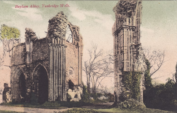 Bayham Abbey - 1915