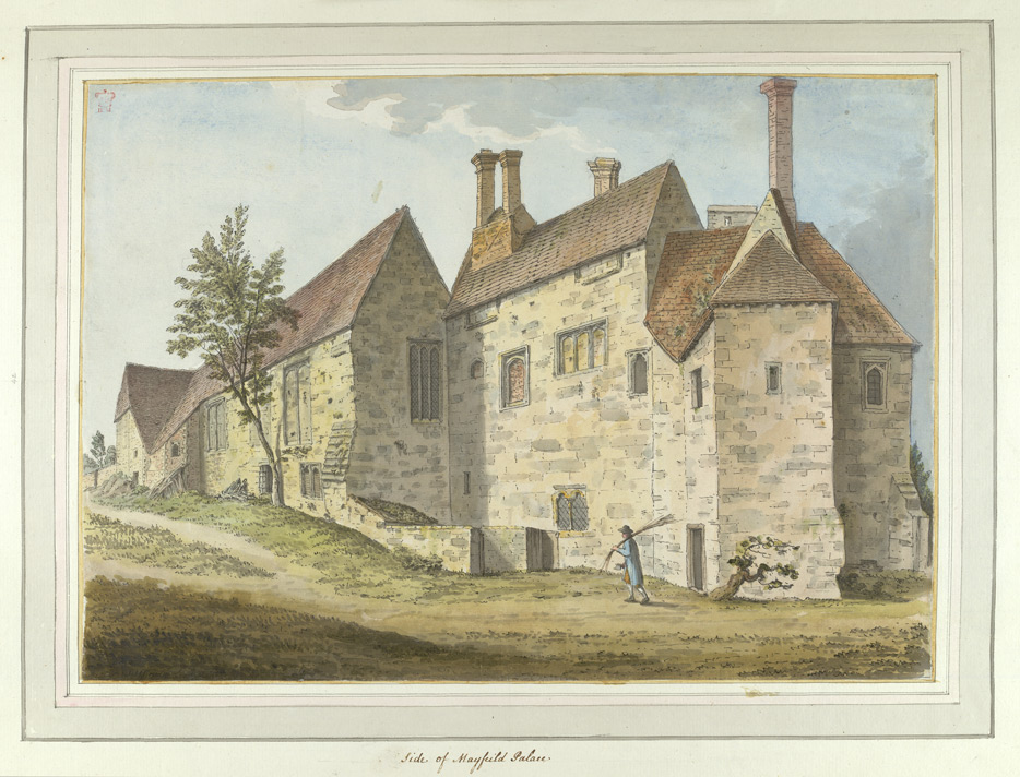Side of Mayfield Palace - 1773