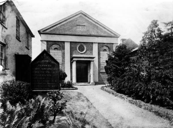 Congregational Church - 1900 to 1905