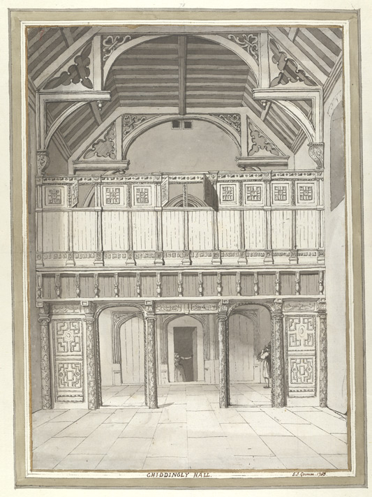 Chiddingly Hall - 1783