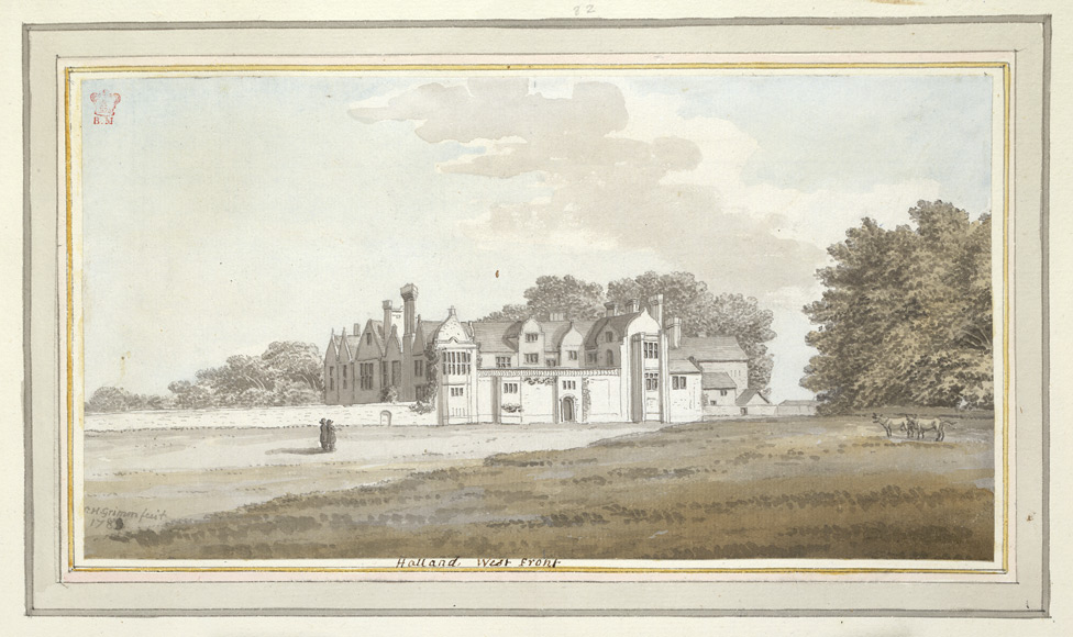Halland West Front - 1783