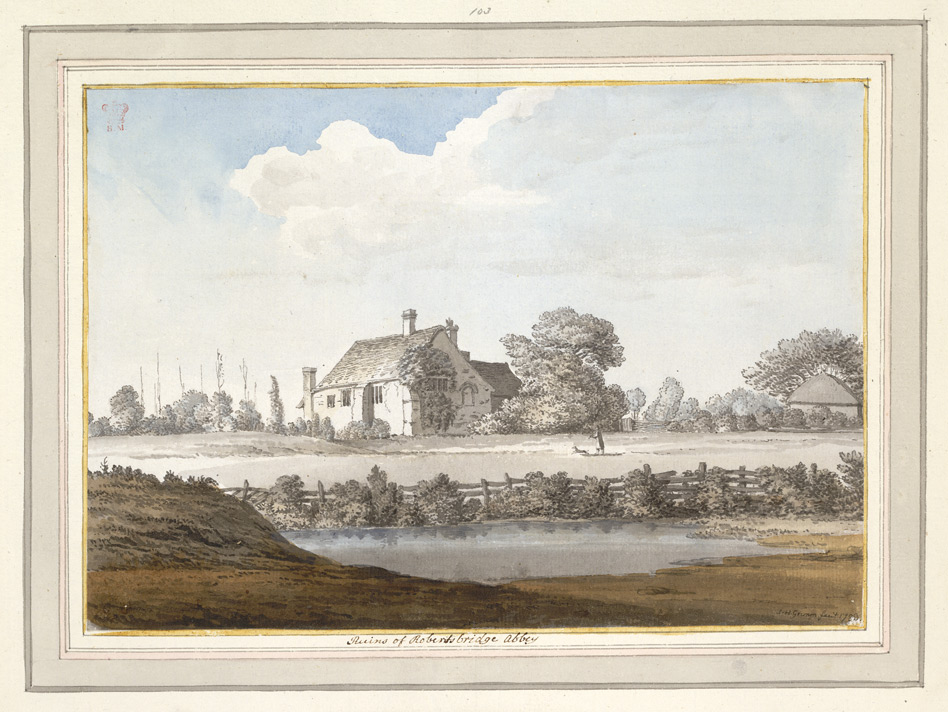 Ruins of Robertsbridge Abbey - 1783