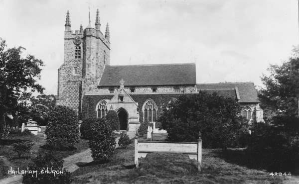 Hailsham Church - 1923