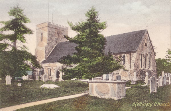 Hellingly Church - c 1910