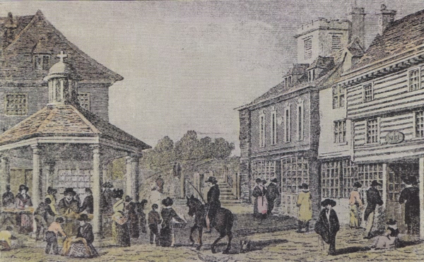 Market Cross - c 1850