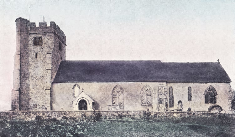 Warbleton Church - 1905