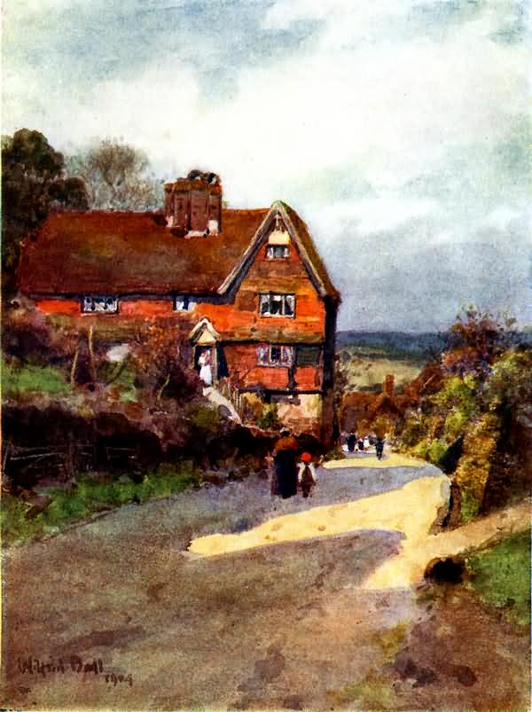 Cottages at Mayfield - 1904