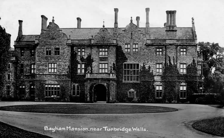 Bayham Mansion - 1912