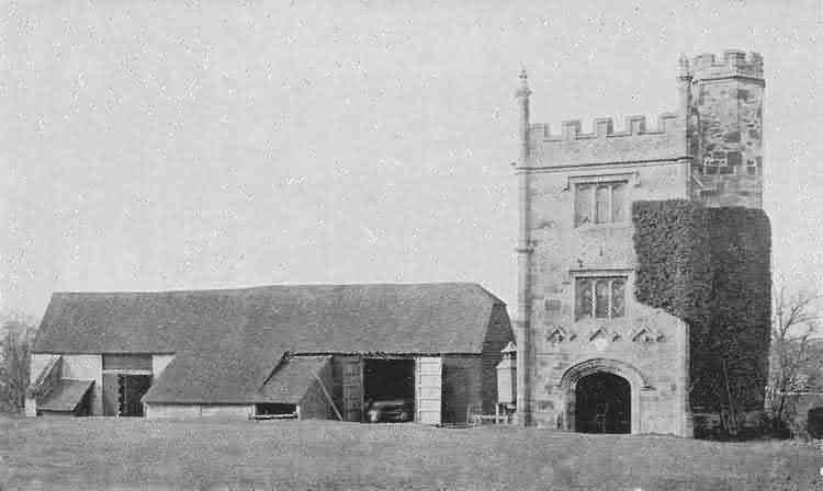 Old Buckhurst Tower - c 1900