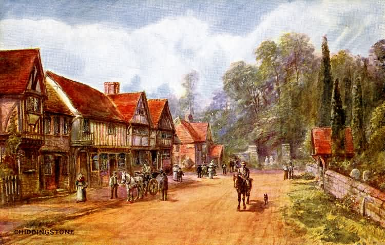 Chiddingstone - c 1890