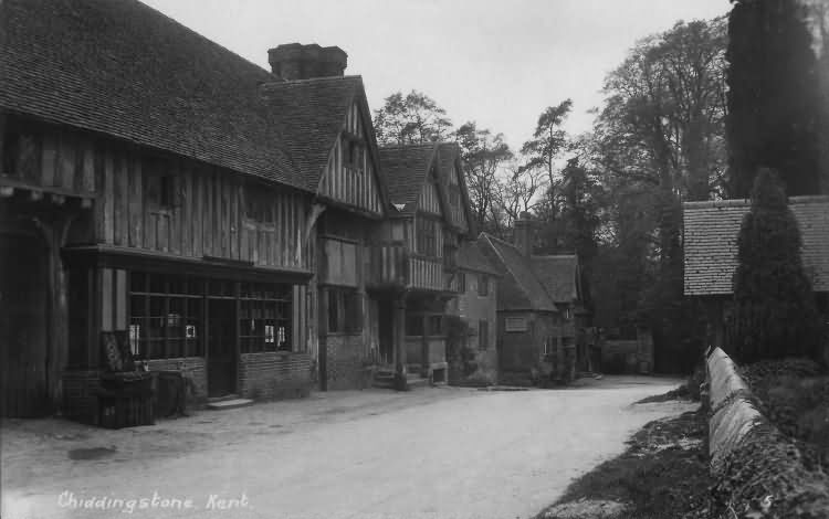 Chiddingstone - c 1920