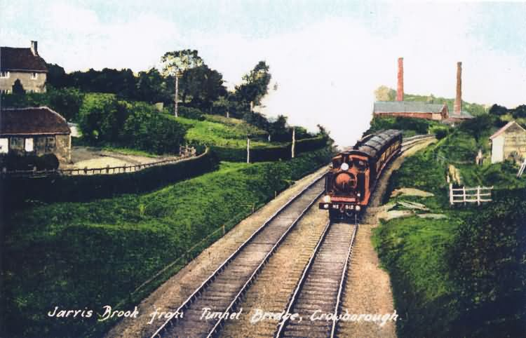 Jarvis Brook from Tunnel Bridge - c 1910
