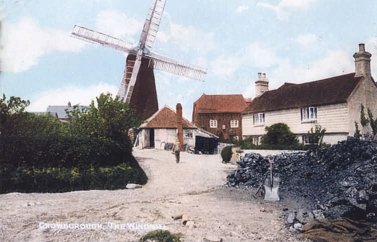 Pratts Windmill - c 1905